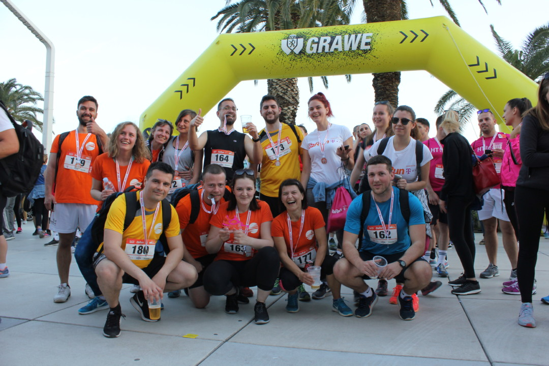 Adriatic.hr trkači team HT B2B Run