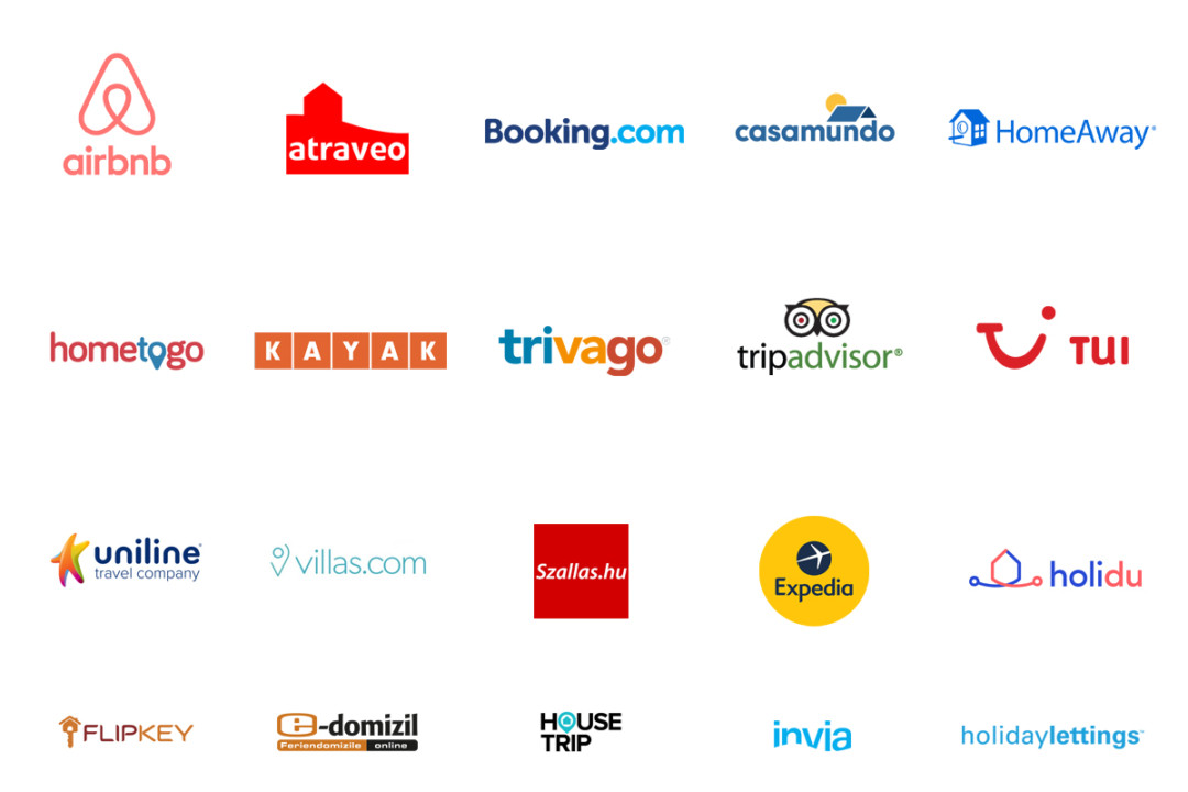Adriatic.hr partneri: Booking.com,Airbnb,Trivago,Tui,Uniline,Hometogo,HomeAway