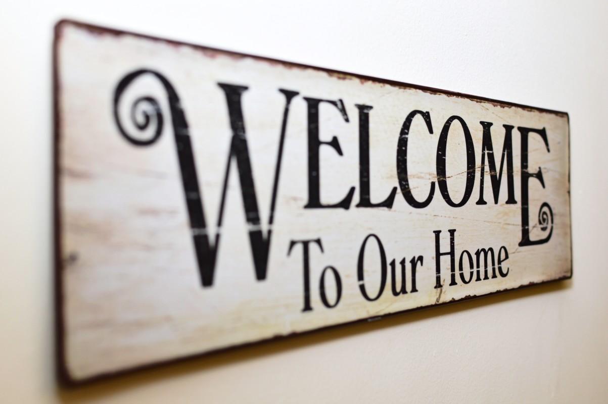 Poruke dobrodošlice su mala gesta koja će gostima dati osjećaj sigurnosti.