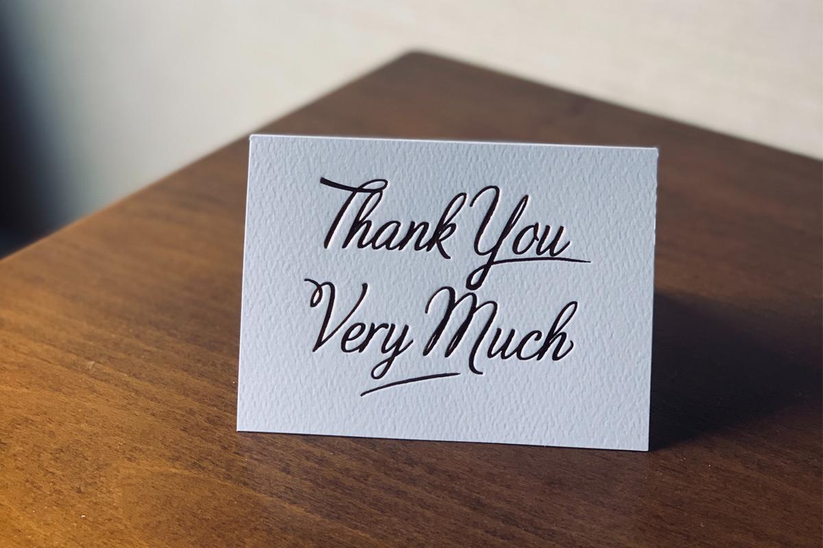Zahvalite gostima na boravku personaliziranom porukom.
